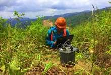 mikrotremor - Lumut Balai - Bengkulu